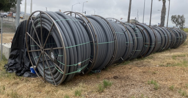 UPS supplies UL conduit for West Coast highway infrastructure project